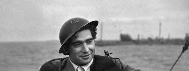 Robert Capa, 'Death in the making'