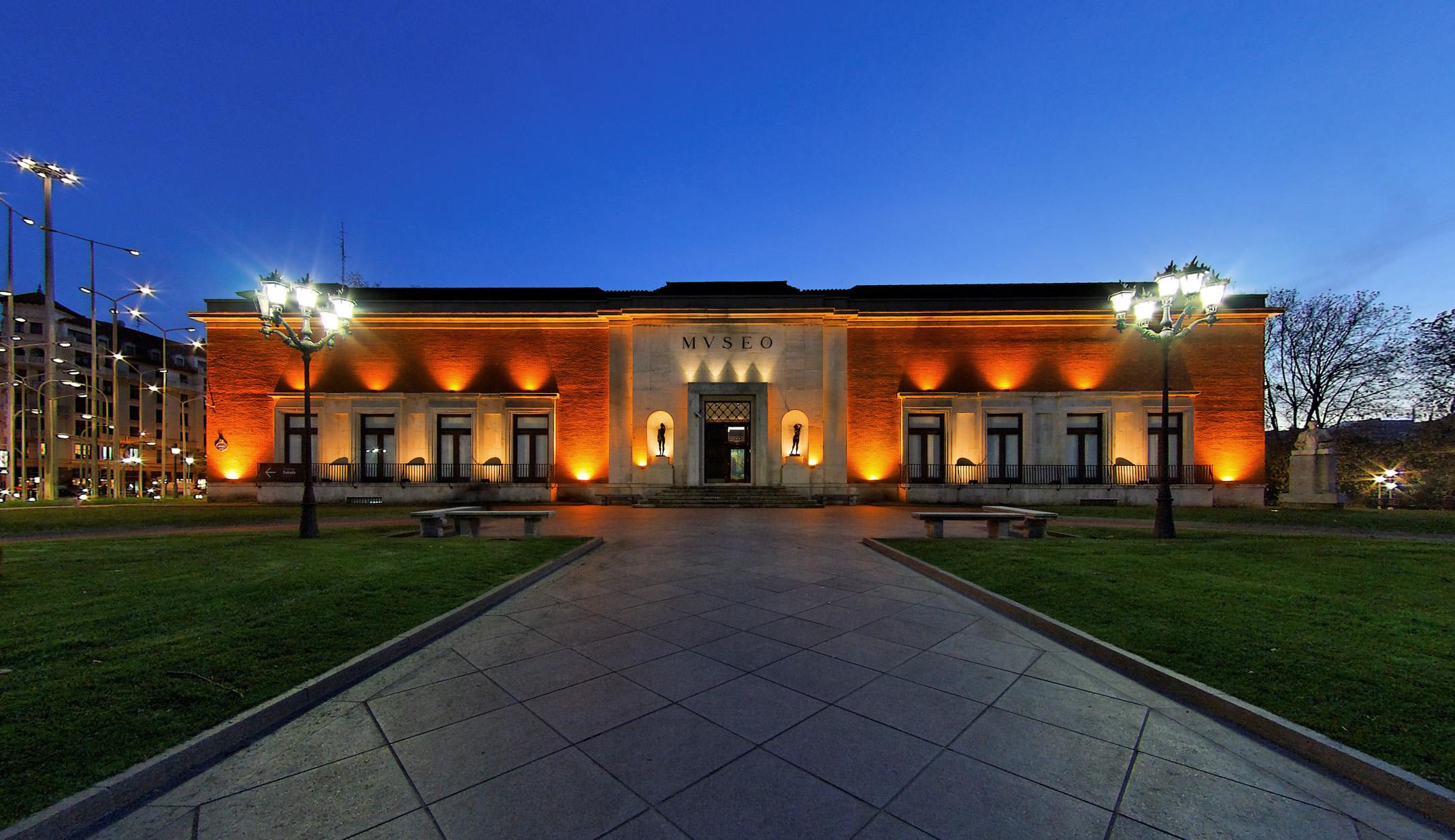 Fachada del Museo de Bellas Artes de Bilbao
